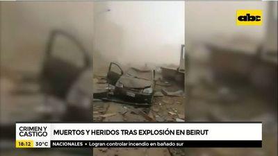 Cómo sucedió la explosión en el Líbano