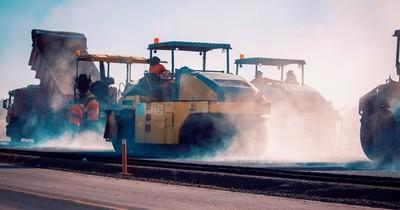Ruta PY02: culminan última fase de pavimentación en Caaguazú