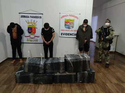 Dos brasileños y un paraguayo fueron detenidos al intentar cruzar la frontera