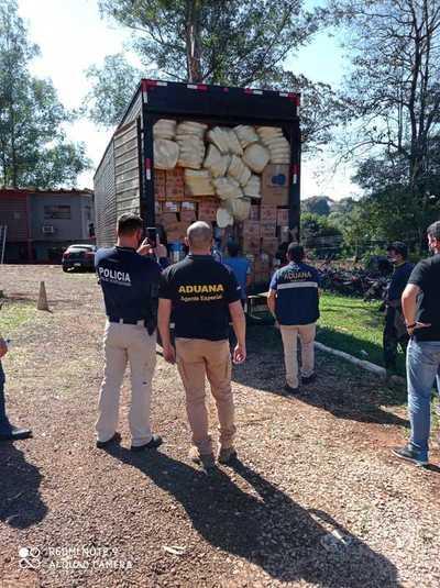 Decomiso de contrabando revela entretelones de esquema de coimas y corrupción en Aduana