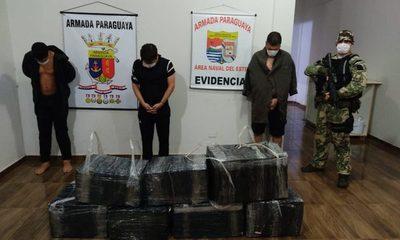 Tres detenidos con carga ilegal de electrónicos