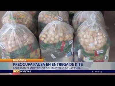 PREOCUPA PAUSA EN ENTREGA DE KITS DE ALIMENTOS DEL ALMUERZO ESCOLAR EN FILADELFIA