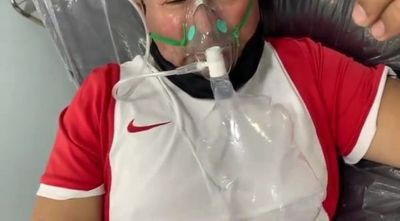 """""""Para los incrédulos"""": paciente pide mostrar cómo ataca Covid-19"""