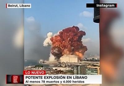 Explosión supera cifra de 100 fallecidos