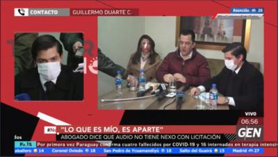 HOY / Habló el abogado Guillermo Duarte Cacavelos, representante legal de Rodolfo Friedmann