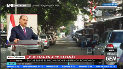 HOY / Joaquín Roa, ministro de la SEN, sobre mecanismo de asistencia económica