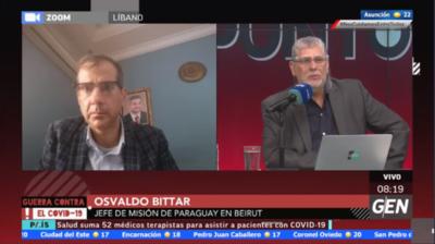 HOY / Osvaldo Bittar, encargado de negocios de la Embajada de Paraguay en el Líbano, sobre la explosión Beirut