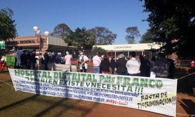 Médicos se movilizan en Alto Paraná, exigen pago de gratificación