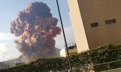Apocalíptica explosión en el puerto de Beirut: estalló un depósito y hay centenas de muertos – Diario TNPRESS
