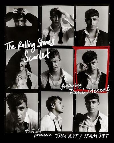 """Los Rolling Stones lanza adelanto de su nuevo videoclip """"Scarlet"""""""