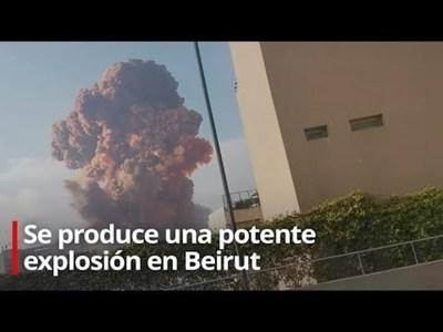 Líbano: Al menos 73 muertos y 3.700 heridos por potentes explosiones en Beirut