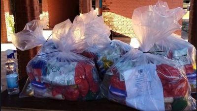Denuncian irregularidades en la entrega de kits de alimentos en colegio subvencionado de Villa Hayes