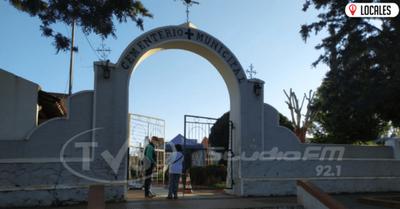 Campo Santo de Encarnación continúa con las medidas sanitarias