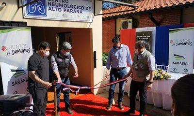 Refaccionan Centro Neumólogico de Alto Paraná