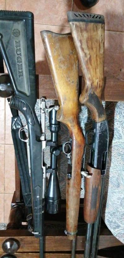 Tres rifles fueron robados del depósito de evidencias del Ministerio Público de Cambyretá
