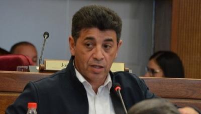 """Senador Ríos: """"Benigno López es un delincuente desalmado""""."""