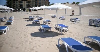 El coronavirus transforma la Ibiza búlgara Sunny Beach en ciudad fantasma