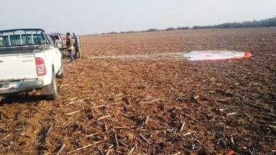 Se estrelló un avión caza de la Fuerza Aérea Argentina: el piloto se eyectó pero murió