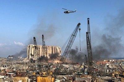 Aumentan a 135 los muertos y a cerca de 5.000 los heridos por las explosiones en Beirut