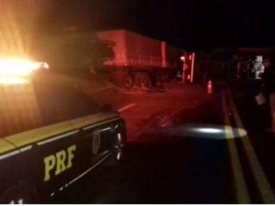 Camionero paraguayo falleció tras un accidente en Brasil