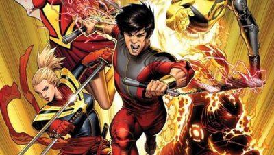 Los videos del set de la nueva película de Marvel