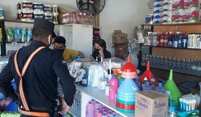 Asaltan local de ventas de productos de limpieza
