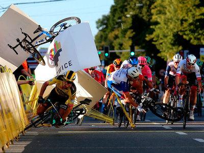Ciclista queda en coma inducido tras un terrible accidente