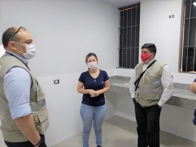 Verifican obras del futuro laboratorio biomolecular de Alto Paraná