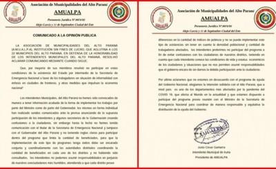 AMUALPA decide no realizar inscripciones para subsidio del SEN