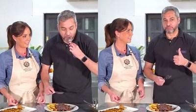 El presidente y la primera dama lanzaron tutorial de cocina