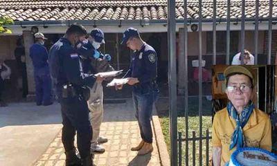 Mbutuy; Realizan allanamiento en prosecución al homicidio de una abuelita – Prensa 5