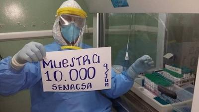 HOY / Detectan dos casos positivos de Covid-19 en laboratorio del Senacsa