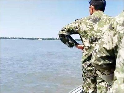 Hubo un nuevo tiroteo entre militares y desconocidos a orillas del río Paraná