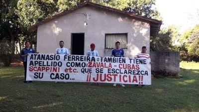 Pocas pistas de la desaparición de Atanasio Ferreira