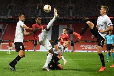 El United va a cuartos de Europa League tras cumplir trámite ante LASK