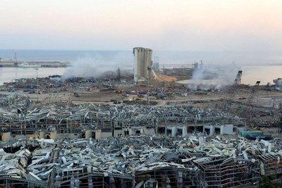 Las investigaciones iniciales apuntan a la negligencia como causa de la explosión de Beirut