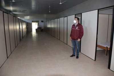 Culmina reacondicionamiento para el centro de atención a pacientes respiratorios en Yabebyry