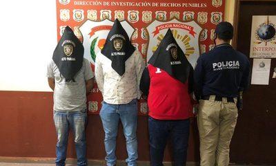 Imputan a tres hombres detenidos con cargamento de contrabando