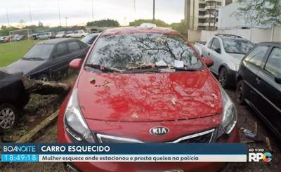 Paraguaya olvido donde estaciono su auto en FOZ, denuncio como robado, y ahora tiene una MILLONARIA MULTA