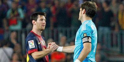 """Messi, al retirado Íker Casillas: """"Fue muy duro tenerte como rival"""""""