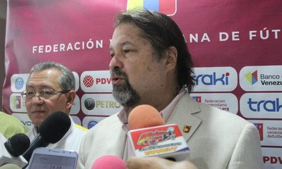 Fallece el presidente de la Federación Venezolana de fútbol