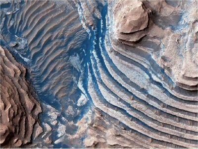 Los ríos no formaron valles de Marte, sino el deshielo de placas glaciares