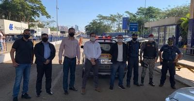 Autoridades de Ciudad del Este y Foz buscan reabrir el Puente de la Amistad