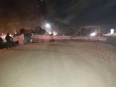 Grave accidente en Yguazú