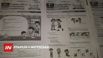 COMIENZA DISTRIBUCIÓN DE MATERIALES IMPRESOS A ESCUELAS DE ITAPÚA