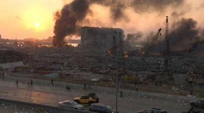 Explosión en Beirut: Sube a 135 los muertos y desaparecidos, y ya son más de 5.000 los heridos