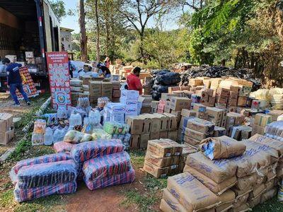 Fiscalía imputa a detenidos por carga de contrabando