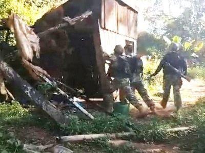 Destruyen puestos de vigilancia en puertos clandestinos del   Paraná