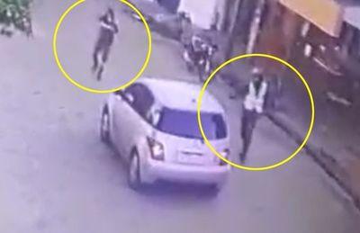 Víctima reacciona contra dos motochorros tras un asalto