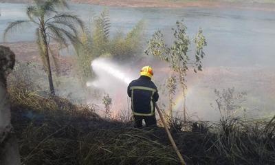 QUEMADAS genera grave CONTAMINACION AMBIENTAL en Alto Paraná